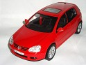 1:18 - Bburago - Volkswagen - Golf MKV - 2003 - Red - Street - 0
