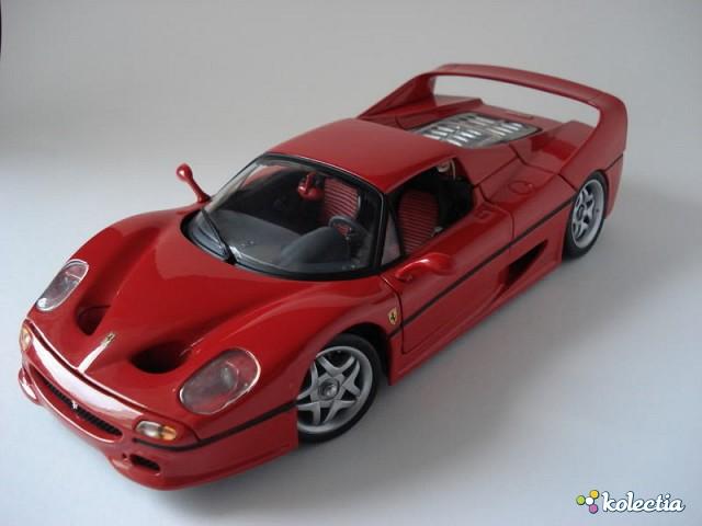1 18 Hot Wheels Ferrari F50 1995 Red Kolectia