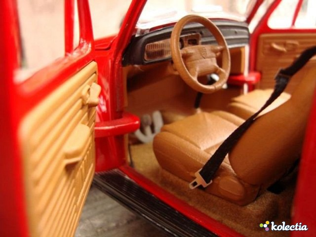 1 18 Road Signature Volkswagen Kafer 1967 Red Kolectia