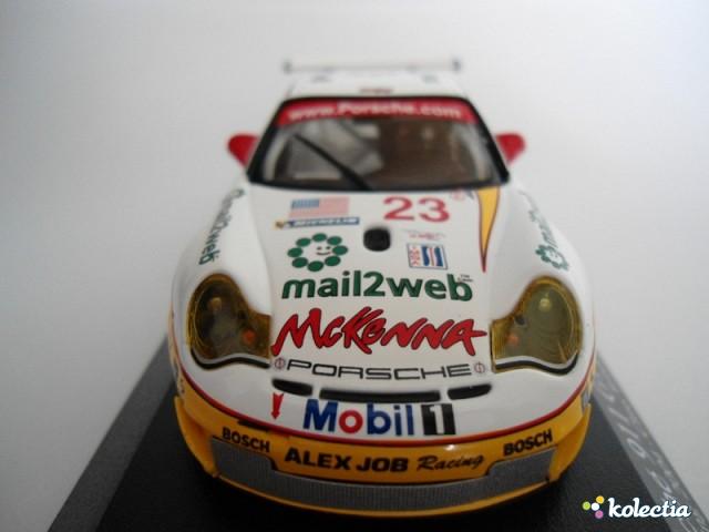 1:43 Minichamps Porsche 911 (996) GT3 RSR 2004 White W/Yellow