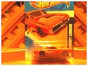 1:64 - Mattel - Hotwheels - 68 Mercury Cougard - 2011 - Red and black lines - Custom - Hw premiere - 0