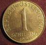 1 Schilling Austria 1991 KM# 2886. Uploaded by Granotius