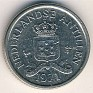 10 Cent Netherlands Antilles 1971 KM# 10