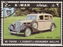 Ajman - 1970 - Cars - 2 RLS - Multicolor - Cars, Rallye - Michel 619 - Car Maybach SW38 1936 Aniv. Hubert v. Herkomer Rallye - 0