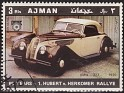 Ajman - 1970 - Cars - 3 RLS - Multicolor - Cars, Rallye - Michel 620 - Car BMW 327 1936 Aniv. Hubert v. Herkomer Rallye - 0