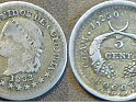 Cent - 5 Cent - Colombia - 1882 - Silver - 14 mm - 0