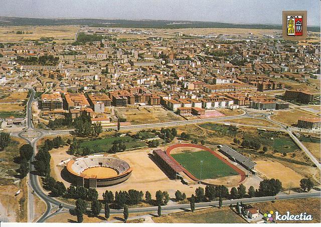 estadio adolfo suarez y plaza de toros vila spain