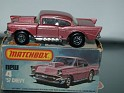 Matchbox - Car - New 57 Chevy - Red - Metal - 0
