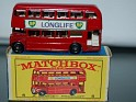 Matchbox Lesney Bus BP Longlife  Red. Uploaded by Mike-Bell