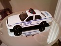 Motor Max - Car - Ford Crown Victoria - 2007 - Blue & White - Metal - Die cast NYPD Ford Crown Victoria scale1:24 - 0