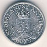 Netherlands Antillean Guilder - 1 Cent - Netherlands Antilles - 1979 - Aluminum - KM# 8a - 19 mm - 1 guilder = 100 cents - 0