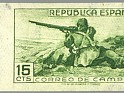 Spain 1939 Email Campaign 15 CTS Green Edifil NE 55A