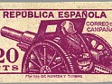 Spain 1939 Email Campaign 20 CTS Violet Edifil NE 48. España ne48. Uploaded by susofe