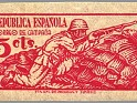 Spain 1939 Email Campaign 5 CTS Red Edifil NE 46. España ne46. Uploaded by susofe