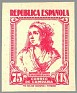 Spain 1939 Email Campaign 75 CTS Pink Edifil NE 53