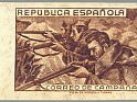 Spain 1939 Email Campaign 80 CTS Brown Edifil NE 55D