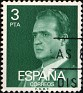 Spain - 1976 - Juan Carlos I - 3 PTA - Dark Green - Celebrity, King - Edifil 2346 - 0