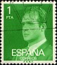 Spain 1977 Don Juan Carlos I 1 PTA Yellow Green Edifil 2390. Uploaded by Mike-Bell