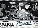 "Spain - 1981 - The  ""Guernica "" In Spain - 200 Ptas - Black - Edifil 2630 - 1"