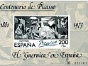 "Spain - 1982 - The  ""Guernica "" In Spain - 200 Ptas - Black - edifil 2631 - 0"