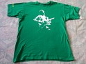 T-Shirt - Germany - Spreadshirt - 2007 - Crises - Moonlight Shadow -  Shadow On The Wall - Green - 1